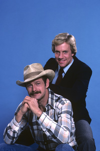 """Simon & Simon""Gerald McRaney, Jameson Parker1982 © 1982 Gene Trindl - Image 9827_0016"