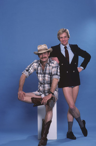 """Simon & Simon""Gerald McRaney, Jameson Parker1982 © 1982 Gene Trindl - Image 9827_0021"