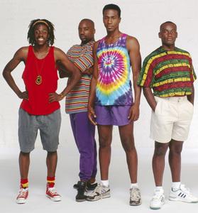 """Cool Runnings""Leon, Doug E. Doug, Malik Yoba, Rawle D. Lewis1993 © 1993 Bobby Holland - Image 9857_0023"