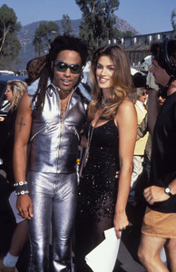 """MTV Video Music Awards""Lenny Kravitz, Cindy Crawford1993 / Universal Amphitheatre / Los Angeles, CA © 1993 Pablo Grosby - Image 9875_0014"