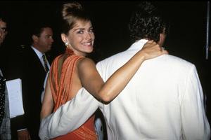 """MTV Video Music Awards""Sharon Stone with Bill McDonald1993 / Universal Amphitheatre / Los Angeles, CA © 1993 Pablo Grosby - Image 9875_0029"