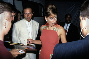 """MTV Video Music Awards""Bill McDonald, Sharon Stone1993 / Universal Amphitheatre / Los Angeles, CA © 1993 Pablo Grosby - Image 9875_0030"