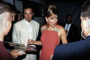 """MTV Video Music Awards""Bill McDonald, Sharon Stone1993 / Universal Amphitheatre / Los Angeles, CA © 1993 Pablo Grosby - Image 9875_0030"