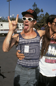 """""""MTV Video Music Awards""""Flea and Anthony Kiedis of the Red Hot Chili Peppers1993 / Universal Amphitheatre / Los Angeles, CA © 1993 Pablo Grosby - Image 9875_0077"""