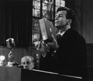 """Judgment at Nuremberg""Maximilian Schell1961 UAPhoto by Al St. Hilaire - Image 9892_0008"