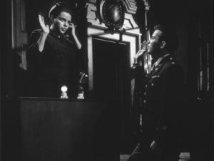 Judy Garland, William ShatnerFilm SetJudgment At Nuremberg (1961) © 1978 Al St. Hilaire0055031UA - Image 9892_0014