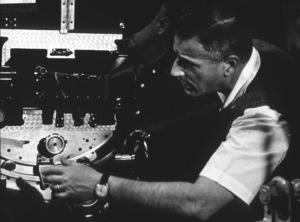 """""""Judgment At Nuremberg""""Director Stanley Kramer on the set, 1961. © 1978 Al St. Hilaire - Image 9892_0015"""