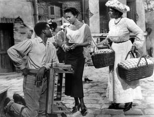 """Porgy and Bess""Sidney Poitier, Dorothy Dandridge, Pearl Bailey1959 Samuel Goldwyn Company** I.V.  - Image 9893_0027"
