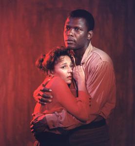 """Porgy And Bess""Dorothy Dandridge, Sidney Poitier1959 © 2001 Mark Shaw - Image 9893_0029"