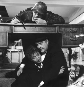 """The Producers""Kenneth Mars, Gene Wilder, Zero Mostel1968 MGM**I.V. - Image 9899_0010"