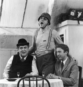 """The Producers""Kenneth Mars, Gene Wilder, Zero Mostel1968 MGM**I.V. - Image 9899_0015"