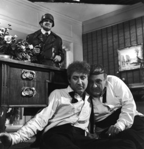 """The Producers""Kenneth Mars, Gene Wilder, Zero Mostel1968 MGM**I.V. - Image 9899_0030"