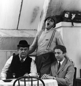 """The Producers"" Gene Wilder, Zero Mostel, Kenneth Mars 1968 MGM ** I.V. - Image 9899_0034"