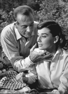 """""""Love In The Afternoon"""" Gary Cooper and Audrey Hepburn / 1957Photo By Al St. Hilaire - Image 9902_0005"""