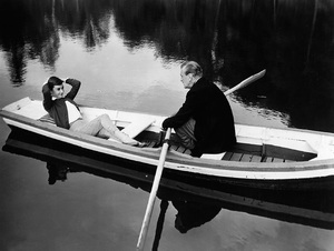 """""""Love in the Afternoon""""Gary Cooper, Audrey Hepburn1957 Allied Artists** I.V. - Image 9902_0024"""