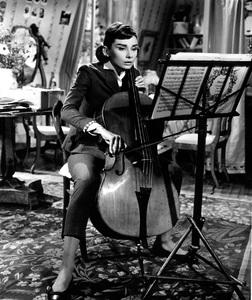 """Love in the Afternoon""Audrey Hepburn1957 Allied Artists** I.V. - Image 9902_0027"