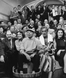 """Love in the Afternoon""John McGiver, Audrey Hepburn, director Billy Wilder, Gary Cooper1957** I.V. - Image 9902_0032"