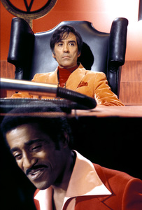 """Poor Devil""Christopher Lee, Sammy Davis Jr.1973Photo by Clayton Bud Gray - Image 9931_0002"