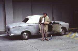 """Columbo""Peter Faulk and his Peugeot1993 NBC © 1993 Gene Trindl - Image 9942_0029"
