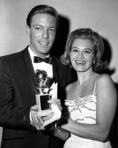 """Golden Globe Awards""Richard Chamberlin and Angie Dickinson 3-6-63**I.V. - Image 9945_0013"