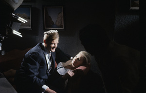 """Roger Moore and Penelope Horner in """"The Saint""""circa 1966** J.C.C. - Image 9949_0006"""