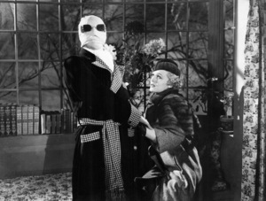 """The Invisible Man""Claude Rains, Gloria Stuart1933 Universal Pictures - Image 9956_0001"