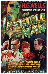"""""""The Invisible Man""""Poster1933 Universal**I.V. - Image 9956_0005"""