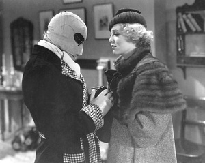 """The Invisible Man""Claude Rains & Gloria Stuart1933 Universal**I.V. - Image 9956_0009"