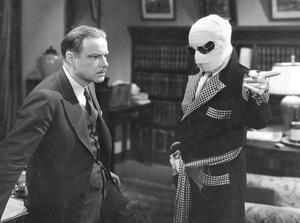 """""""The Invisible Man""""Claude Rains & William Harrigan1933 Universal**I.V. - Image 9956_0011"""
