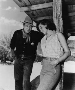 """""""Rio Bravo""""John Wayne, Angie Dickinson1959 Warner Bros. - Image 9959_0001"""