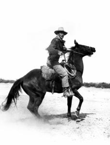 "John Wayne in ""Hondo""1953 Warner Brothers © 1978 Bud Fraker - Image 9960_0018"