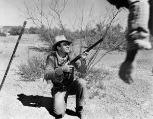 """Hondo""John Wayne1953© 1978 Bud Fraker - Image 9960_0027"