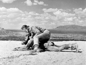 """Hondo""John Wayne, Rodolfo Acosta1953© 1978 Bud Fraker - Image 9960_0028"