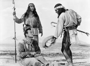 """Hondo""John Wayne, Rodolfo Acosta, Michael Pate1953© 1978 Bud Fraker - Image 9960_0030"