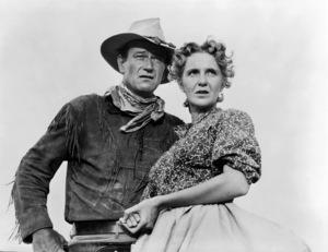 """Hondo""John Wayne, Geraldine Page1953© 1978 Bud Fraker - Image 9960_0031"