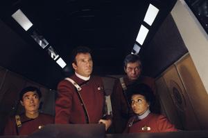 """Star Trek II: The Wrath of Khan""George Takei, William Shatner, DeForest Kelley, Nichelle Nichols1982© 1982 Gene Trindl - Image 9963_0013"