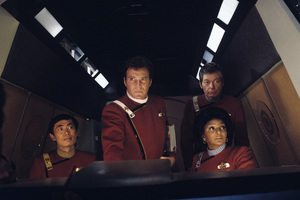 """Star Trek II: The Wrath of Khan""George Takei, William Shatner, DeForest Kelley, Nichelle Nichols1982© 1982 Gene Trindl - Image 9963_0014"