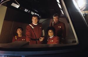 """Star Trek II: The Wrath of Khan""George Takei, William Shatner, DeForest Kelley, Nichelle Nichols1982© 1982 Gene Trindl - Image 9963_0015"