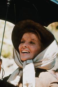 """Rooster Cogburn""Katharine Hepburn on location 1975 Universal © 1978 David Sutton - Image 9967_0018"