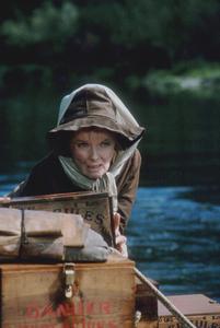 """Rooster Cogburn""Katharine Hepburn on location 1975 Universal © 1978 David Sutton - Image 9967_0023"
