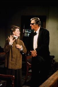 """Rooster Cogburn,"" Universal 1974.Katharine Hepburn and John Wayne. © 1978 David Sutton - Image 9967_0051"