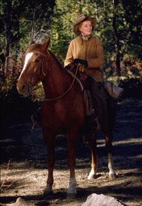 """Rooster Cogburn,"" Universal 1974.Katharine Hepburn © 1978 David Sutton - Image 9967_0067"