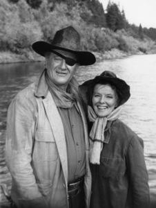 """Rooster Cogburn""John Wayne, Katharine Hepburn1974© 1978 David Sutton - Image 9967_2"