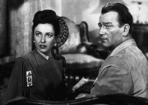 """Tycoon,"" RKO 1947.Lorraine Day and John Wayne. - Image 9972_0001"