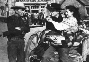 """Angel and the Badman,"" Republic 1947.Harry Carey, John Wayne, and Gail Russell. - Image 9973_0002"
