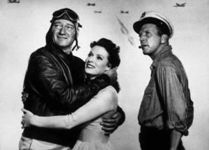 """The Wings of Eagles,"" MGM 1958.John Wayne, Maureen O"