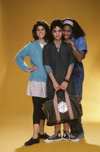 """A Different World""Marisa Tomei, Dawnn Lewis, Lisa Bonet1987© 1987 Mario Casilli - Image 9987_0008"