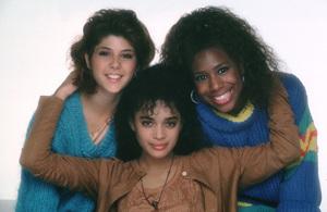 """A Different World"" Marisa Tomei, Lisa Bonet, Dawnn Lewis 1987 NBC © 1987 Mario Casilli - Image 9987_0009"