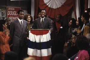 """A Different World"" (Episode: May the Best Man Win)Joe Morton, Kadeem Hardison1992© 1992 Gene Trindl - Image 9987_0072"