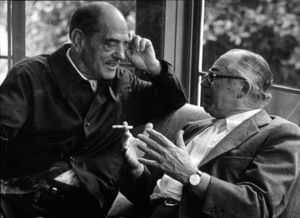 Directors Group Party,Luis Bunuel and Billy Wilder © 1972 Marv Newton / MPTV - Image 9999_0005